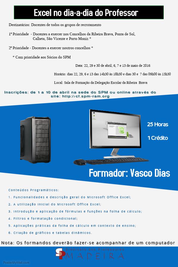 Cartaz Excel Ribeira Brava